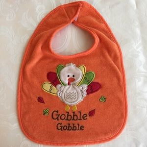 Turkey Thanksgiving Bib